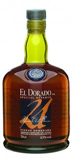 El Dorado Rum 21 Year Old 750ml